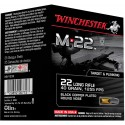 Munitions 22lr M22 Winchester lot de 400