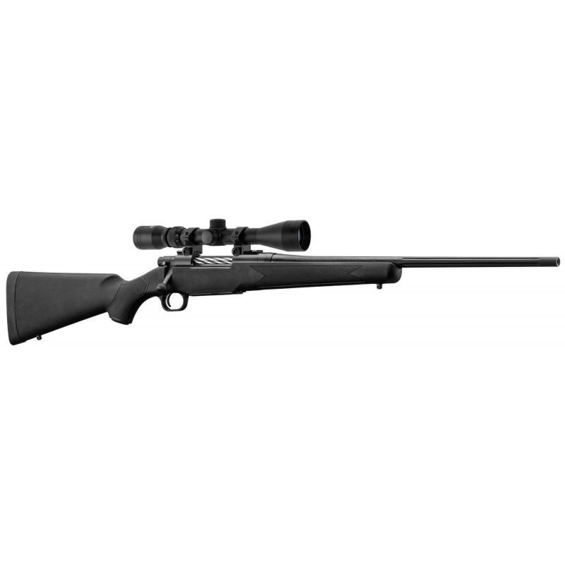 PACK PATRIOT CAL. 308 WIN SYNTHÉTIQUE + LUNETTE 3-9 X 40 + MONTAGE - MOSSBERG