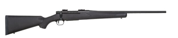 d9734b6e51 PACK PATRIOT CAL. 243 WIN SYNTHa?°TIQUE + LUNETTE 4-12 X 50 + MONTAGE -  MOSSBERG - MilitariaOne