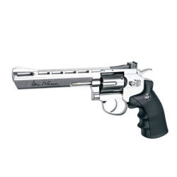 "ASG Dan wesson 6"" 4.5mm (.177) Chrome CO2 3J"