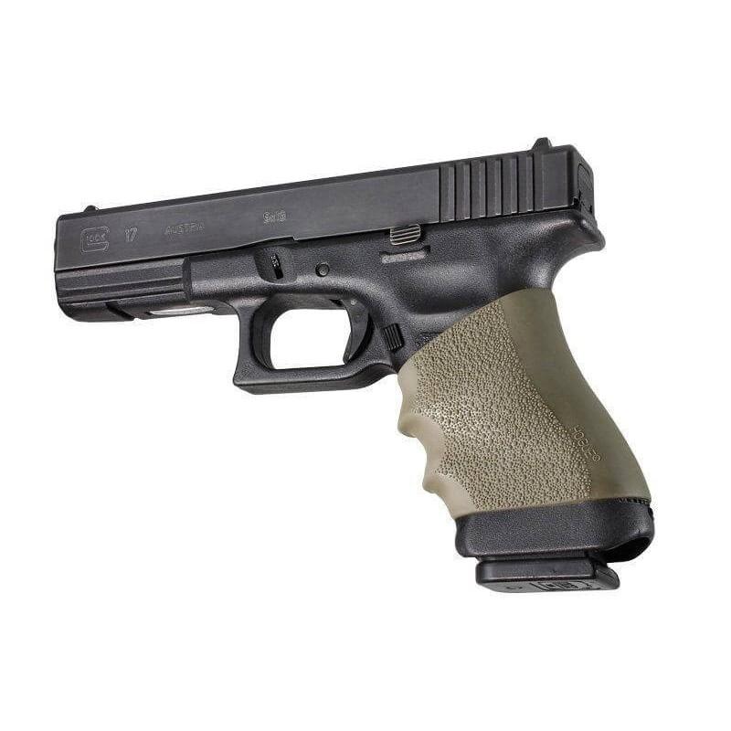 Grip Hogue Handall Glock vert OD