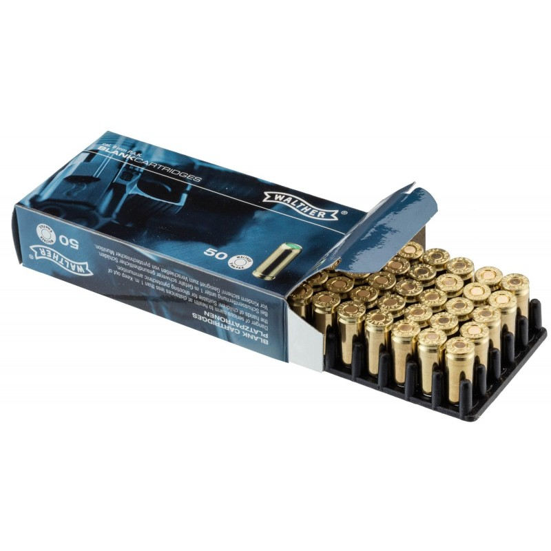 Munitions 9mm PAK Walther x50