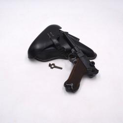 Pack Luger P08 9mm PAK - Etui noir et outil