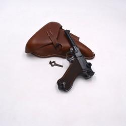 Pack Luger P08 9mm PAK - Etui marron et outil