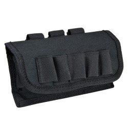 Cartouchiere MOLLE calibre 12 noire