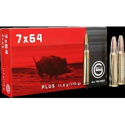 Munitions Geco boite de 20 calibre 7x64 Plus Bullet