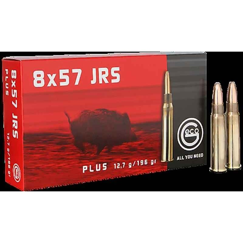 Munitions Geco boite de 20 calibre 8x57JRS Plus Bullet
