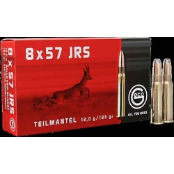 Munitions Geco boite de 20 calibre 8x57JRS Soft point