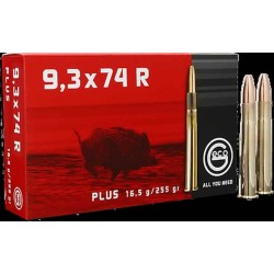 Munitions Geco boite de 20 calibre 9,3x74R Plus Bullet