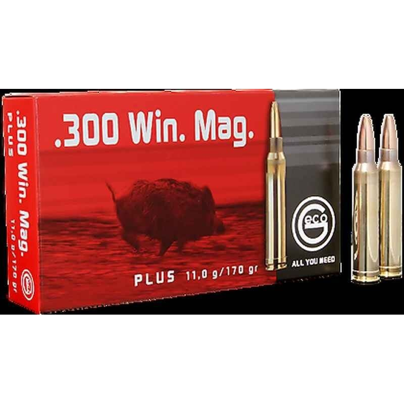 Munitions Geco boite de 20 calibre 300Win Plus Bullet