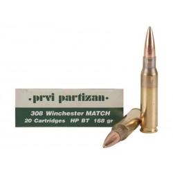 308 168gr HPBT MATCH PPU x1000