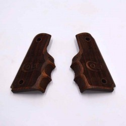 Plaquettes Colt 1911 ergonomiques avec logo