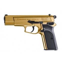 Pistolet 9 mm à blanc Browning GPDA 9mm PAK doré