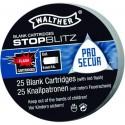 Walther 9MM PA à blanc STOPBLITZ - x25