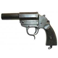 Pistolet lance fusees Allemand ww2 acier