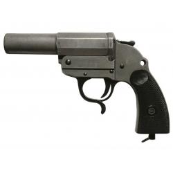 Pistolet lance fusees Allemand ww2 zinc