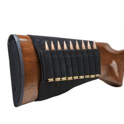 Cartouchiere de crosse carabine elastique 9 balles NC STAR