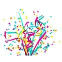 5 cartouches Festi-Ball cal. 12/67 confettis