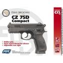 Pistolet CZ 75D ASG Compact 4.5 mm CO2 Fixe 2.7J