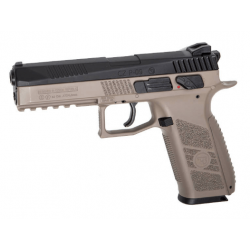 Pistolet CZ P-09 Noir / FDE 4.5 mm(.177) C02 Blowback 3.7J