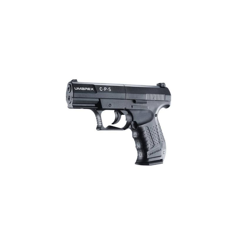 Pistolet UMAREX CPS compact 4.5 mm (.177) Noir CO2 3.9J