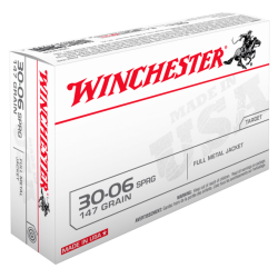 30-06 147gr FMJ Winchester x20