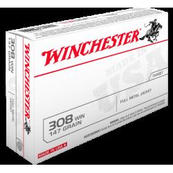 308 Win 147gr FMJ Winchester x20