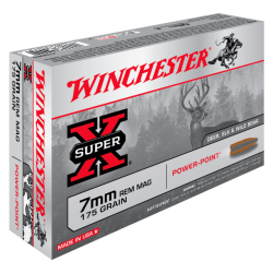 7mm Rem 175gr Power Point Winchester x20