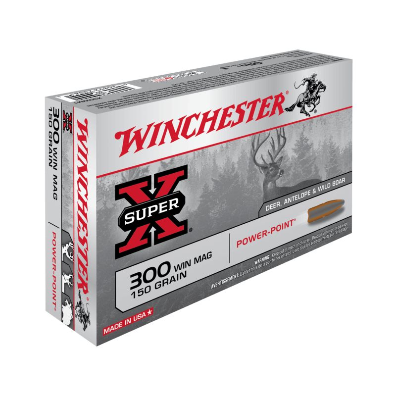 300WM 150gr Power Point Winchester x20