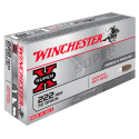 222 Rem 50gr Power Point Winchester x20