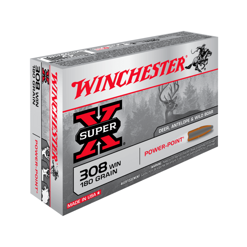 308 Win 180gr Power Point Winchester x20