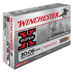 30-06 150gr Power Point Winchester x20