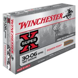 30-06 180gr Power Point Winchester x20