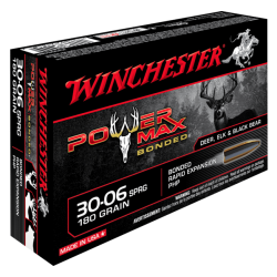 30-06 180gr Power Max bonded Winchester x20