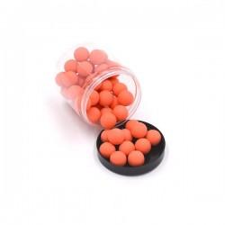 Boite de 50 billes caoutchouc orange cal.68