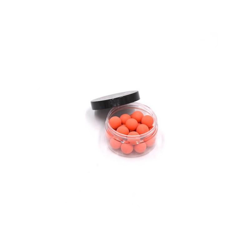 Boite de 20 billes caoutchouc orange cal.68