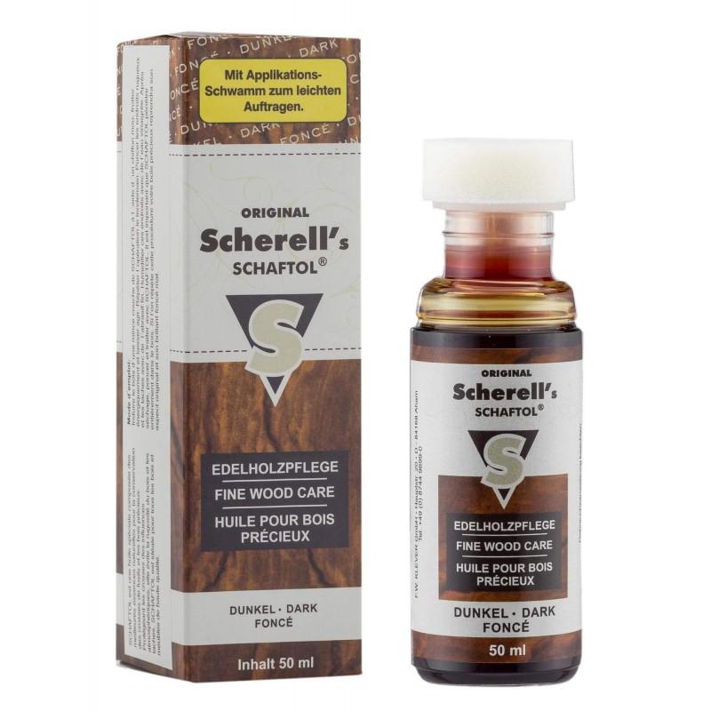 Huile pour bois teinte fonce - Schaftol