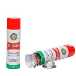 Bouteille Ballistol factice cachette