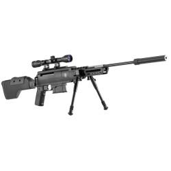 Carabine à air comprimé Black Ops type sniper cal. 4,5 mm