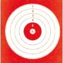 Cibles loisir 14x14 rouges