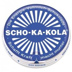 Scho-Ka-Kola bleu au lait 100g