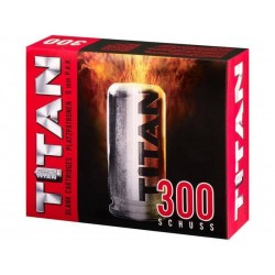 Munitions 9mm PAK TITAN x300