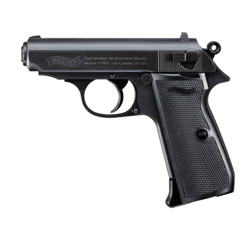 Pistolet CO2 Walther PPK/S BB's cal. 4.5 mm