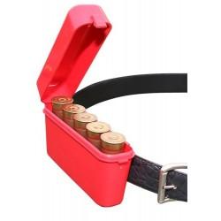 Boite MTM ceinture calibre 12 rouge