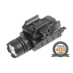 Lampe tactique pistolet 400 lumens UTG