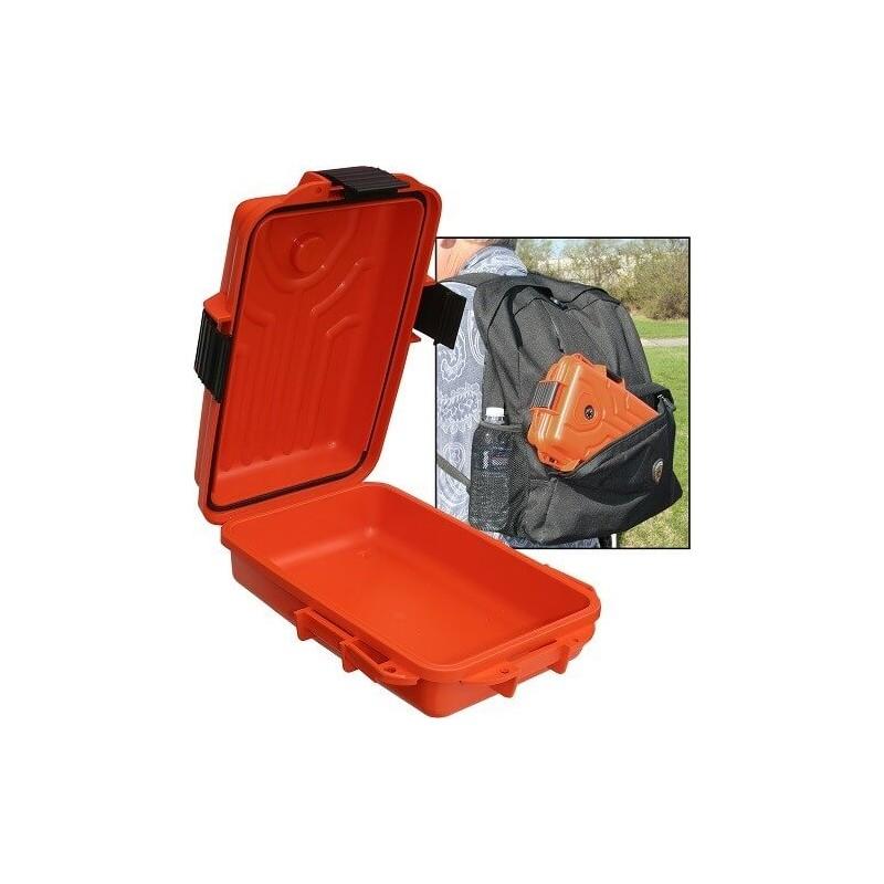 MTM Survivor Petite Boîte De Transport Etanche 25X17.8X7.6cm Orange