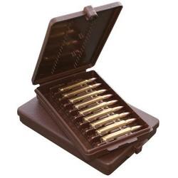 MTM Etui Munitions 223 22-250 30-30 6X47 Marron