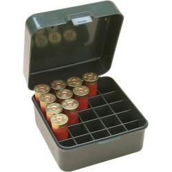 MTM S25-12M Boite à Munitions Calibres 10/12 Jusqu'à 89MM 25 Mun Vert