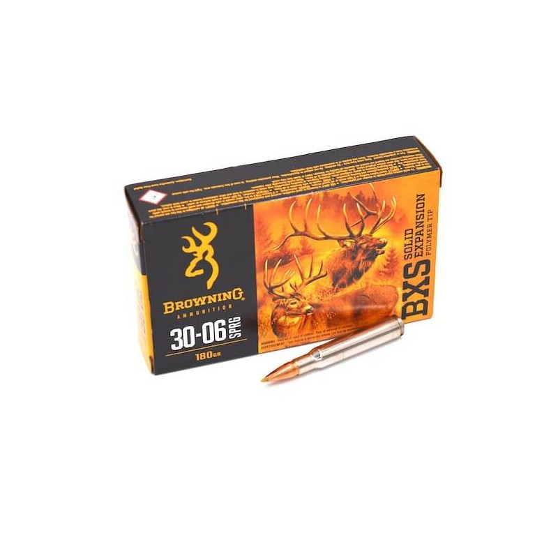 30-06 180gr BXS Browning x20