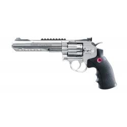 Revolver Ruger Superhawk Chrome 6'' Bbs 6mm Co2 3.0J